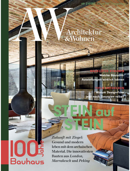 AW Architektur & Wohnen September 03, 2019 00:00
