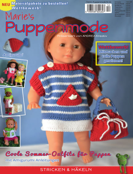 Marie's Puppenmode June 22, 2018 00:00