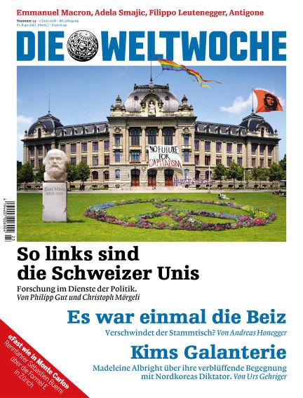 Die Weltwoche June 07, 2018 00:00