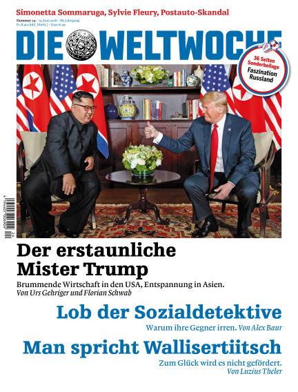 Die Weltwoche June 14, 2018 00:00