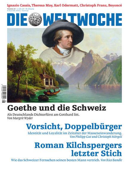 Die Weltwoche July 12, 2018 00:00