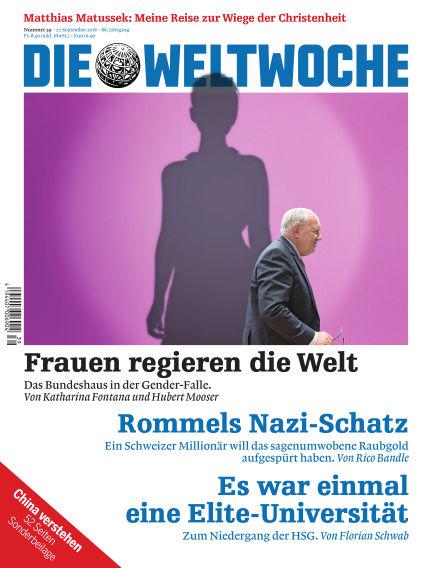 Die Weltwoche September 27, 2018 00:00
