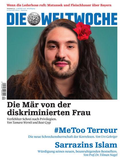 Die Weltwoche October 04, 2018 00:00