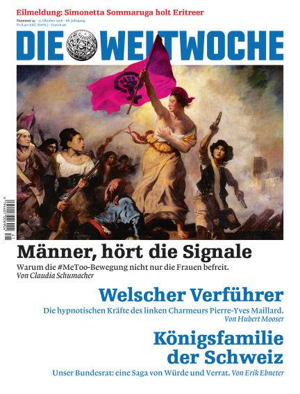 Die Weltwoche October 11, 2018 00:00