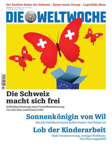 Die Weltwoche October 18, 2018 00:00