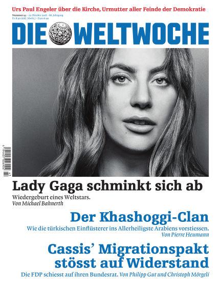 Die Weltwoche October 25, 2018 00:00