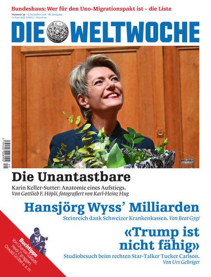 Die Weltwoche December 06, 2018 00:00