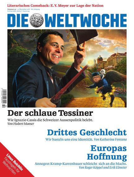 Die Weltwoche December 13, 2018 00:00