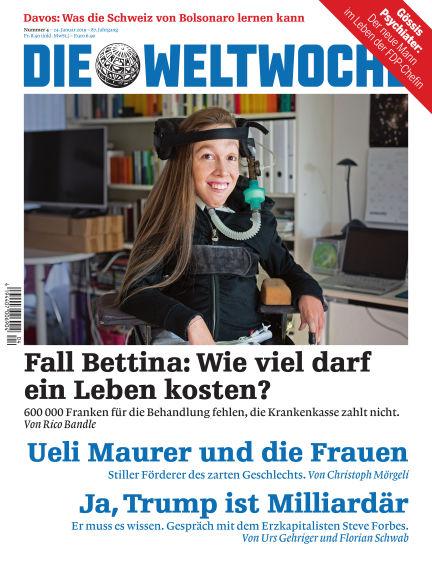 Die Weltwoche January 24, 2019 00:00