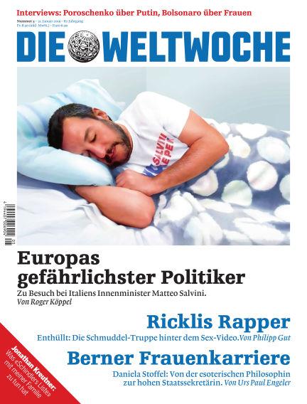 Die Weltwoche January 31, 2019 00:00