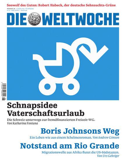 Die Weltwoche June 27, 2019 00:00