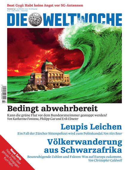 Die Weltwoche October 24, 2019 00:00