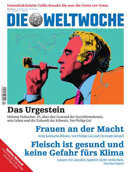 Die Weltwoche October 31, 2019 00:00