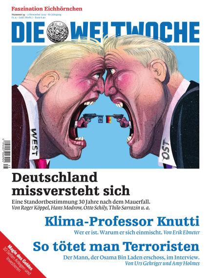 Die Weltwoche November 07, 2019 00:00