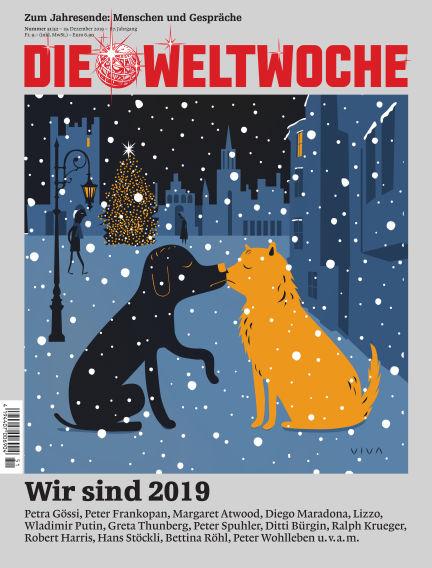 Die Weltwoche December 19, 2019 00:00