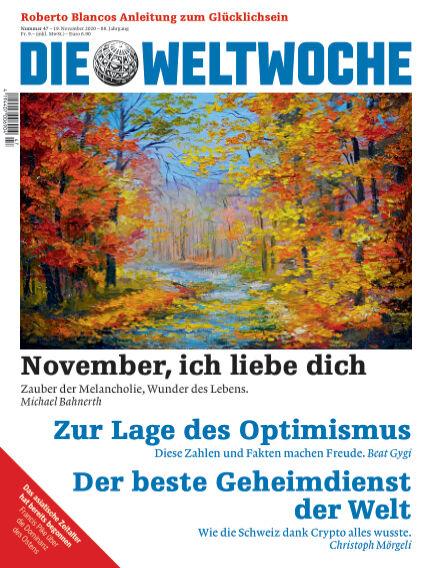 Die Weltwoche November 19, 2020 00:00