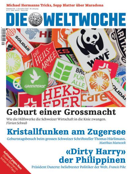 Die Weltwoche December 03, 2020 00:00