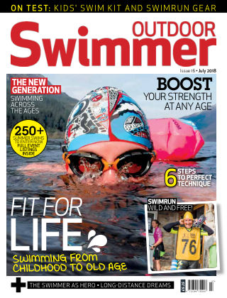 Outdoor Swimmer magazine July 2018