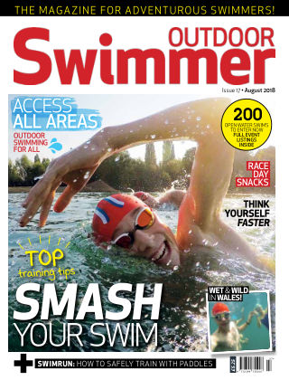 Outdoor Swimmer magazine August 2018