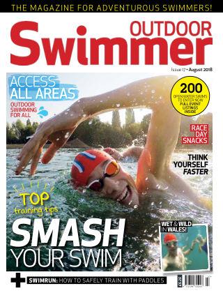 Outdoor Swimmer magazine August 2018