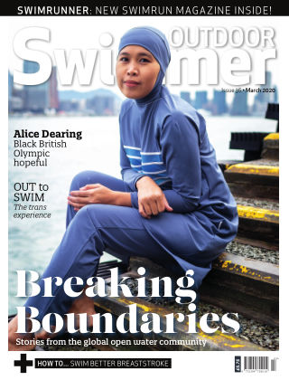 Outdoor Swimmer magazine March 2020