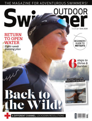 Outdoor Swimmer magazine June 2020