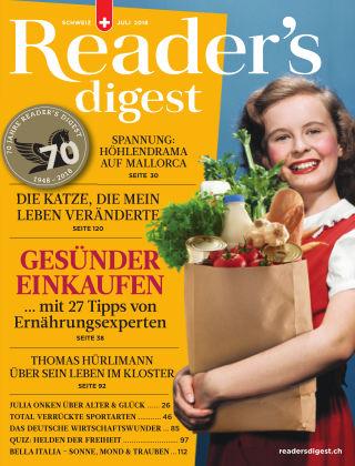 Reader's Digest Schweiz Juli 2018