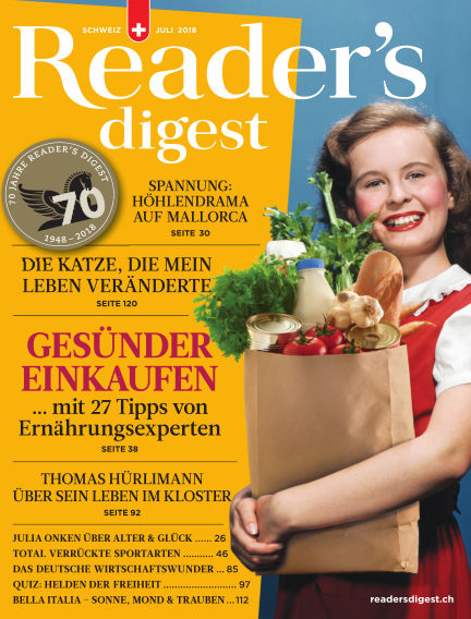 Reader's Digest Schweiz July 12, 2018 00:00