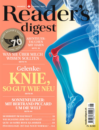 Reader's Digest Schweiz August 2018