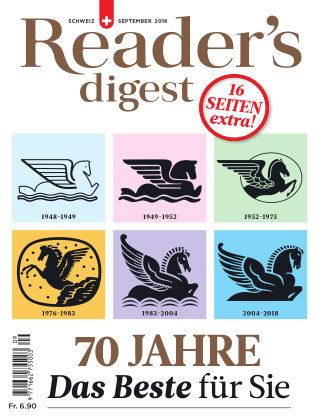 Reader's Digest Schweiz September 2018
