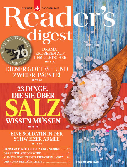 Reader's Digest Schweiz September 26, 2018 00:00