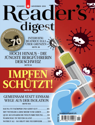 Reader's Digest Schweiz November 2018