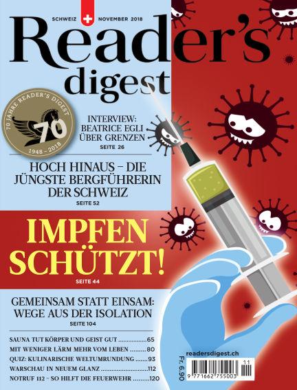 Reader's Digest Schweiz October 31, 2018 00:00