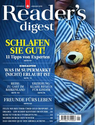 Reader's Digest Schweiz Januar 2019