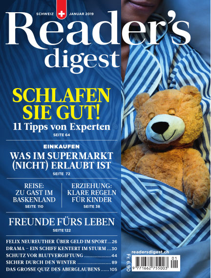Reader's Digest Schweiz December 21, 2018 00:00