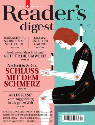 Reader's Digest Schweiz Februar 2019