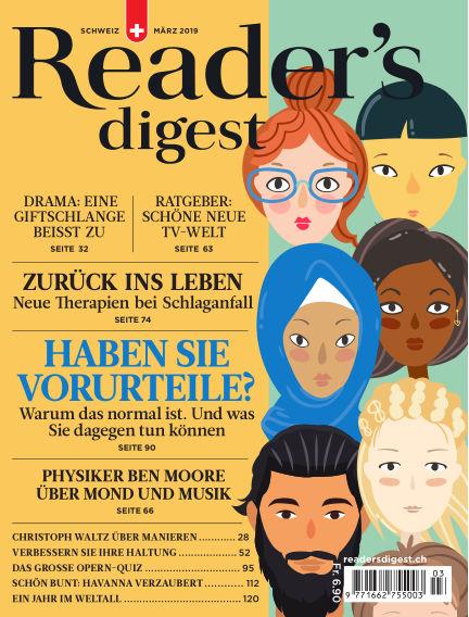 Reader's Digest Schweiz February 25, 2019 00:00