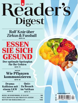 Reader's Digest Schweiz 04/2019