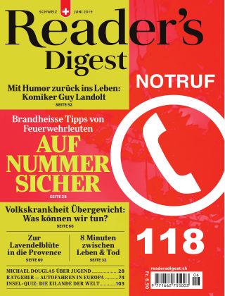 Reader's Digest Schweiz Juni-2019