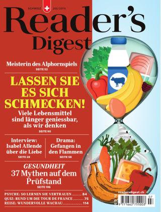 Reader's Digest Schweiz Juli 2019