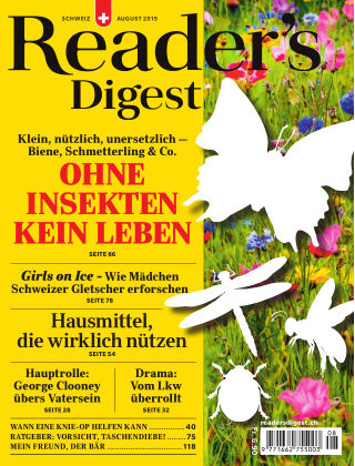 Reader's Digest Schweiz August 2019
