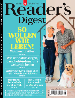 Reader's Digest Schweiz November