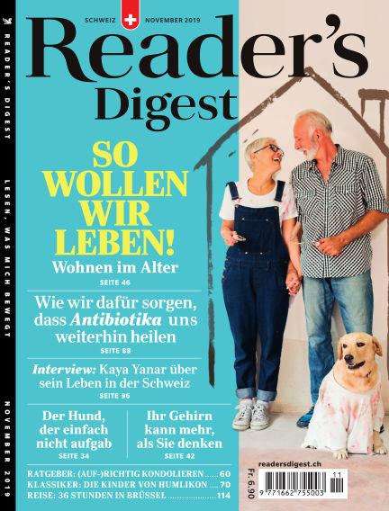 Reader's Digest Schweiz October 28, 2019 00:00