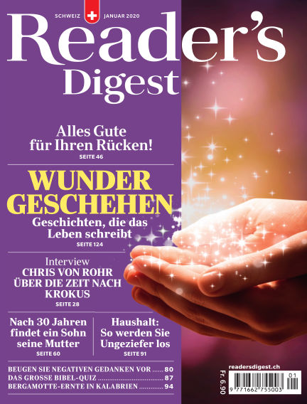 Reader's Digest Schweiz December 20, 2019 00:00