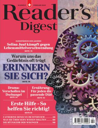 Reader's Digest Schweiz Februar 2020