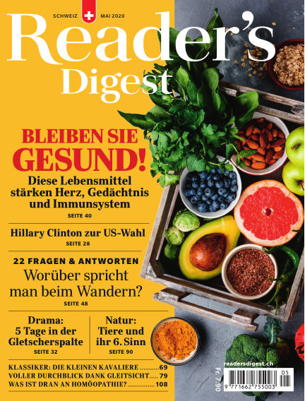 Reader's Digest Schweiz April 27, 2020 00:00