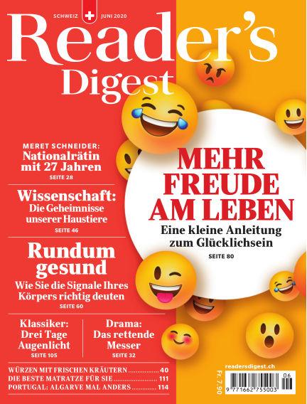 Reader's Digest Schweiz May 25, 2020 00:00
