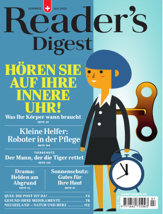 Reader's Digest Schweiz July 2020