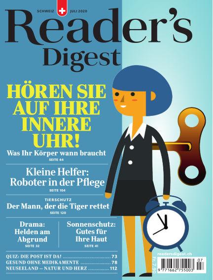 Reader's Digest Schweiz June 26, 2020 00:00