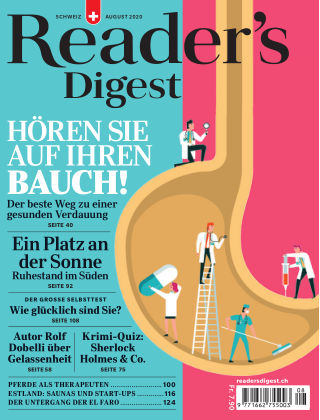 Reader's Digest Schweiz August 2020